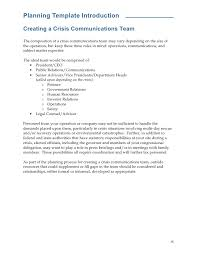 Subject Matter Expert Resume Samples by Nma Crisis Communications Template National Mining Association