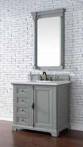 36 Inch Bathroom Vanity With Drawers by James Martin Providence Single 36 Inch Transitional Bathroom