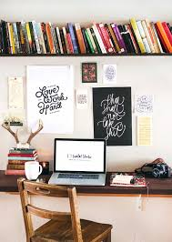 Small Desk With Bookcase De Clutter Your Virtual Life Shelf Desk Minimalism And Shelves