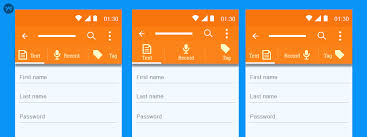 android textview layout gravity java how to make custom tabs with text icons in android mobikul