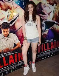 film india villain pix alia parineeti at ek villain screening rediff com movies