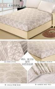 King Size Mattress Pad Fitted Sheet Girls Bedspreads Flower Pattern Cotton Queen King
