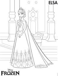 color pages of anna u0026 elsa frozen walt disney princess characters
