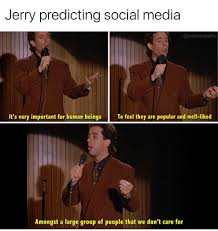 Group Text Meme - seinfeld meme amongst a large group of people on bingememe