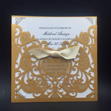 Gold Invitation Card Aliexpress Com Buy 12pcs Wedding Invitations Cards Romantic