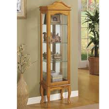 Cherry Wood Curio Cabinet Furniture 20 Images How To Make Your Own Curio Cabinets Cheap