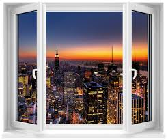 stickers trompe oeil mural stickers fenêtre trompe l u0027oeil new york art déco stickers