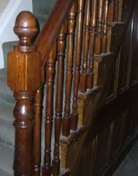 Victorian Banister How To Color Wood With Dye And Stain To Match An Older Finish