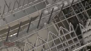 bosch dishwasher tine clip replacement 00611981 youtube