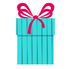 gift boxes with bow blue gift box pink bow icon 10 transparent png svg vector