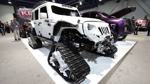 Fab Fours Debuts New Jk Jeep Parts On The Arctic Frog At Sema 2016