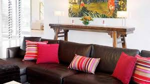 How To Decorate Living Room With Red Sofa by How To Decorate Your Living Room With Cushions Dengarden