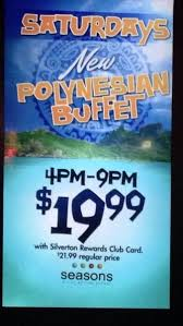 Silverton Casino Buffet Coupons by Join Locals From Oahu N Las Vegas For Ayce Polynesian Buffet At