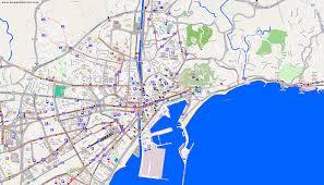 La Traffic Map City Maps Málaga