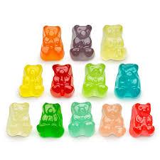 12 flavor gummi bear cubs world u0027s best gummies gourmet candy