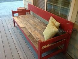 15 ultra cool pallet porch bench pallet furniture plans porch