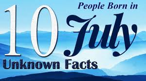 10 unknown facts about born in july do you