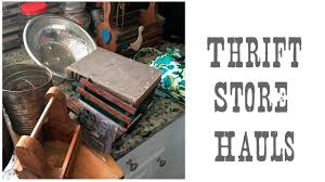 thrift store diy home decor thrift store hauls home decor kids diy project finds youtube