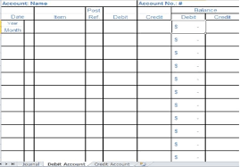 small business ledger templates small business bookkeeping