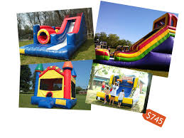 bounce house u0026 inflatable slide rates nashville tn u2014 backyard bounce