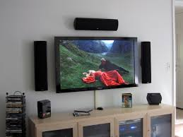 Tv On Wall Ideas by Kitchen Wall Mounted Tv Ideas In Design Surripui Net