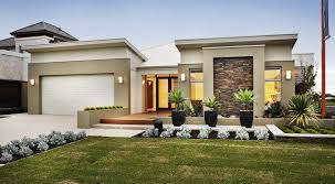 exterior home design one story single story house plans contemporary modern hd
