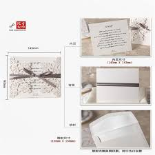 Size Invitation Card Aliexpress Com Buy 20pcs Lot Wedding Invitation Card Wedding