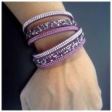 crystal wrap bracelet images Yik fung jewelry swarovski crystals double wrap bracelet poshmark jpg
