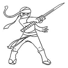 ninja coloring pages fancy ninja coloring pages printable