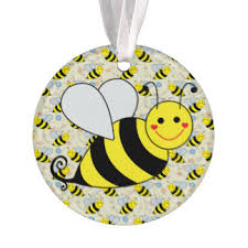 bumble bee ornaments keepsake ornaments zazzle