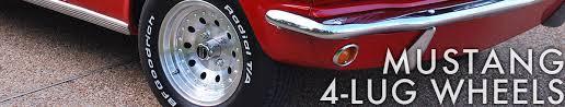 mustang 4 to 5 lug adapters mustang 4 lug wheels cj pony parts