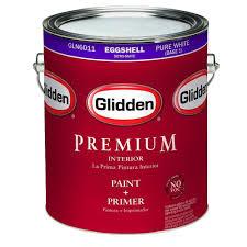 glidden premium 1 gal eggshell interior paint gln6000 01 the