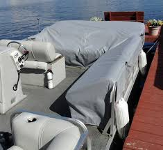 pontoon boat seat covers modern marine materials