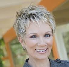 women haircut tapered neck behind ear short hairstyles for women over 50 short thick hair pixie
