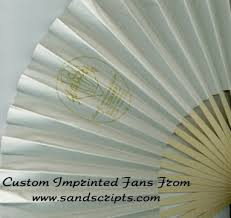 custom paper fans personalized folding fans cloth or paper fans custom printed by