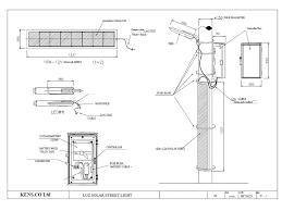 Solar Street Light Wiring Diagram - solar street light u2013 kens co