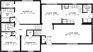 split level floor plan by apex modular homes split level floorplan