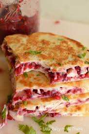 turkey cranberry quesadillas dairy on the prairie