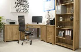 Corner Home Office Desks Home Office Warm Solid Oak Desks For Home Office Furniture Sets