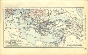 Map Of Constantinople Historical Atlas By William R Shepherd Perry Castañeda Map