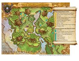 World Of Warcraft Maps by Map Of The Dreamgrove World Of Warcraft Forums