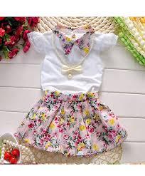white pink stylish baby dress am 090 shopping in pakistan