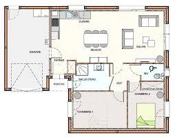 plan cuisine ouverte sur salon plan de cuisine ouverte sur salle manger amazing plan salon cuisine