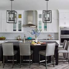 grey kitchen countertops with white cabinets 75 beautiful kitchen with white cabinets and quartz