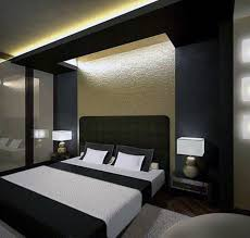 Bedroom Design Modern Contemporary - contemporary bedroom design black curtain closed glass window