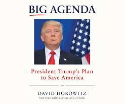 big agenda president trump u0027s plan to save america david horowitz