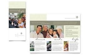 life u0026 auto insurance company brochure template word u0026 publisher