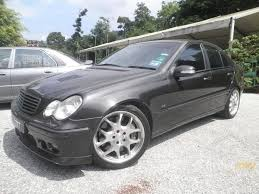 mercedes 2002 c class mercedes c class 2002 in kuala lumpur automatic black for rm