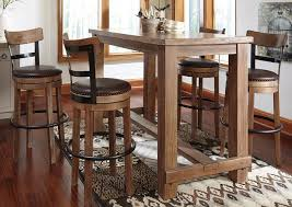bar table with stools home design
