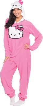 kigurumi polka dots hello pajamas onesie